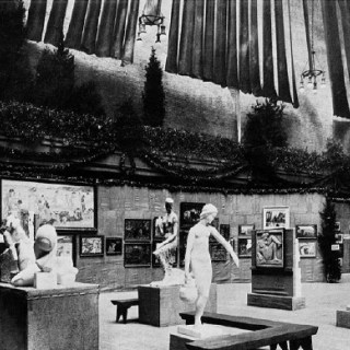 Armory Show, New York, 1913, Foto: Lehmbruck Museum