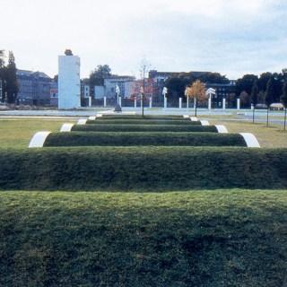 Der Garten der Erinnerungen am Duisburger Innenhafen, Foto: © LehmbruckMuseum / Uwe Köppen