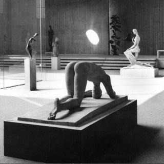 Der Lehmbruck-Trakt, 1964, Foto: © LehmbruckMuseum / Bernd Kirtz