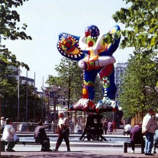 Niki de Saint Phalle und Jean Tinguely: Lifesaver (1989/93), Foto: © LehmbruckMuseum / Bernd Kirtz